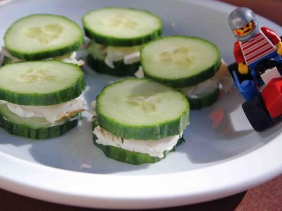 Turkey Cucumber Wheels