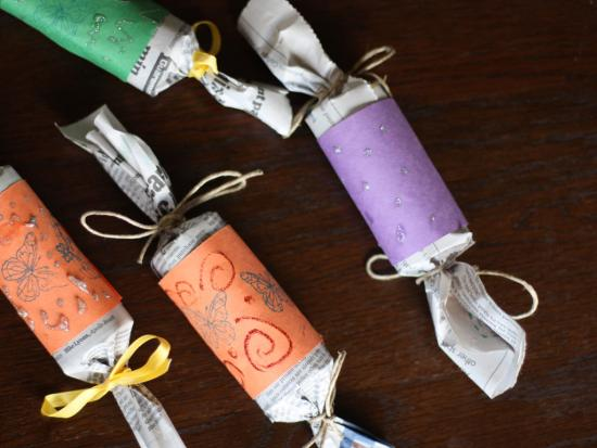 Eco-Friendly Party Poppers
