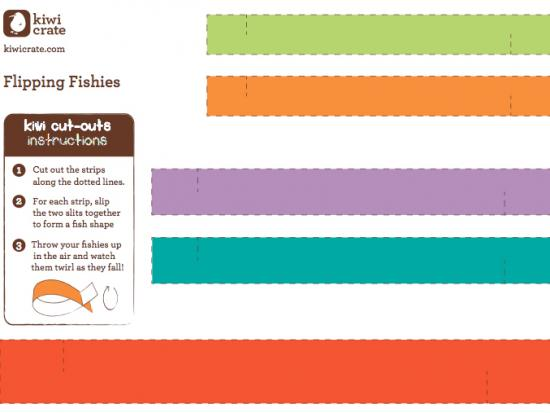 Printable Flipping Fishies