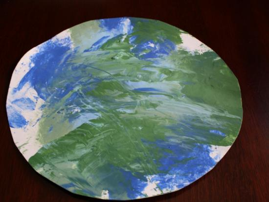 Earth Day Smoosh Painting
