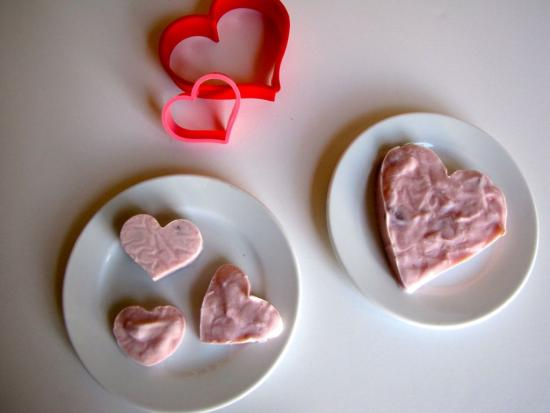 Valentine Yogurt Treats
