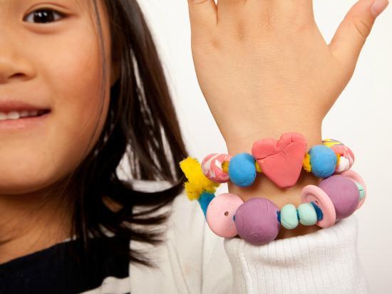 Clay Bead Bracelet