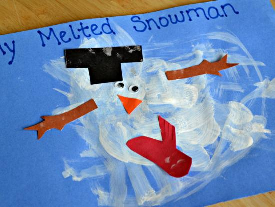 10 Snowman Art Projects for Cold Wintry Afternoons | Our Little House ...