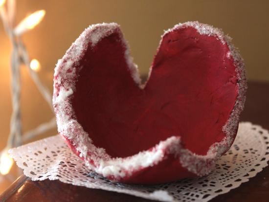Heart-Shaped Clay Bowls
