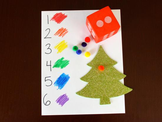 Roll and Decorate Christmas Tree