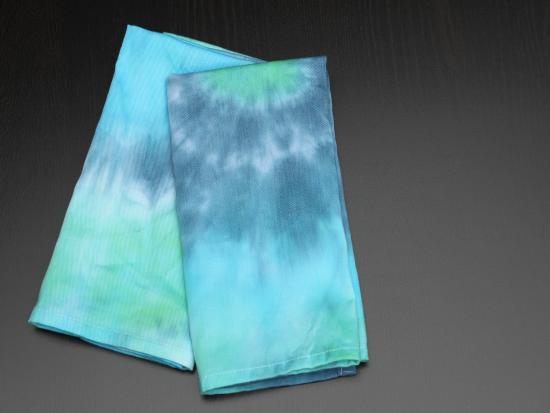 Tie Dye Cloth Napkins