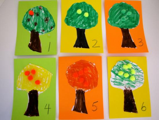 Citrus Tree Counting Cards