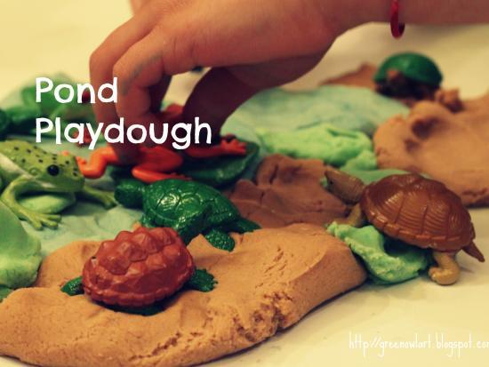 Pond Play Dough