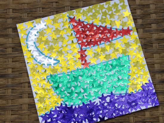 Sticker Mosaic Art | Kids Crafts & Activities for Children | Kiwi ...