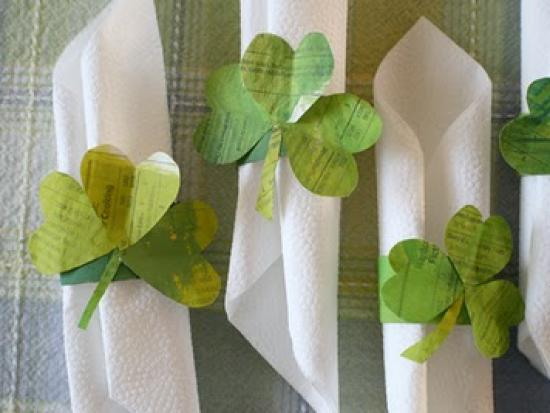 st. patrick's day: one project, two uses