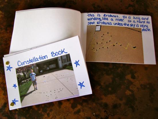 Sidewalk Constellations and Mini-Books
