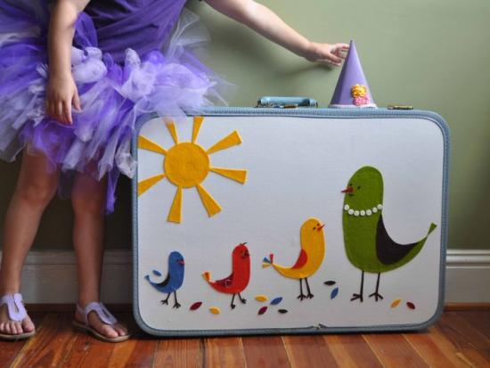 How to Update a Vintage Suitcase