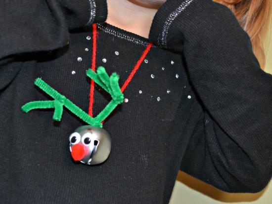 Reindeer Bell Necklace