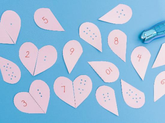 Heart Number Puzzles