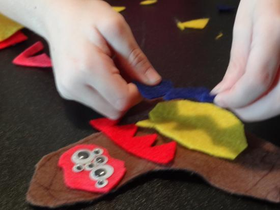 Monster Felt Board