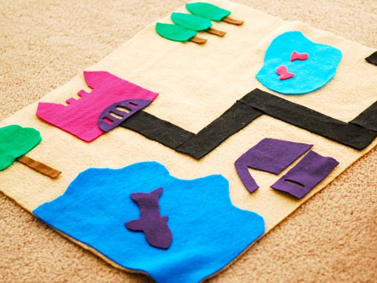 Felt Play Mat