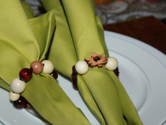 Beaded Napkin Rings