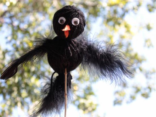 Crow Puppets