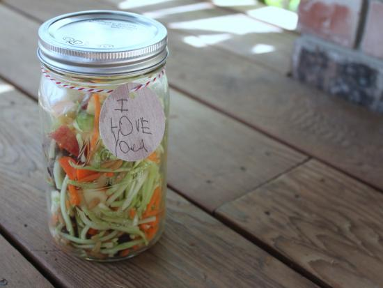 Simple Salad Jar