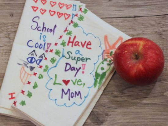 School Lunch Napkin Notes