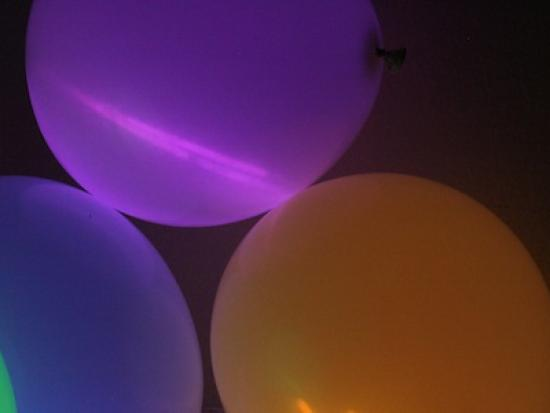 Glow Sticks and Balloons