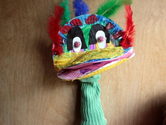 Crazy Bird Puppets