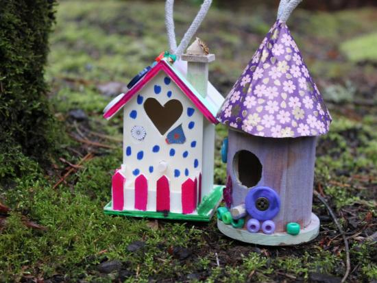 Fairy house kids crafts activities for children kiwi crate - Cool themed houses ...