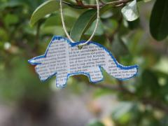 Newspaper Ornaments