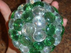 Glass Gem Christmas Ornaments