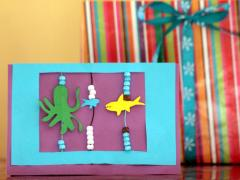 Beaded Cards