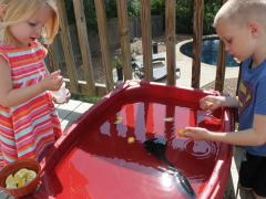 Lemonade Stand Sensory Play
