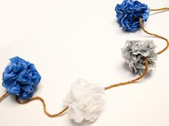 Tissue Paper Garland