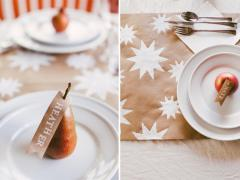 Starry Holiday Table Runner