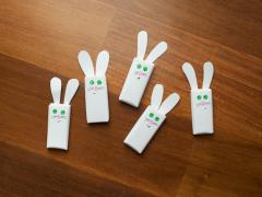 Bunny Ear Chocolate Bars