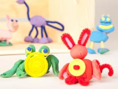 Clay Animals