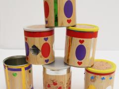 Oatmeal Can Giftbox Craft For Kids