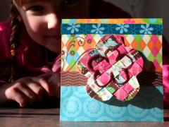 Woven Greeting Card