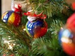 Swirly Ornaments