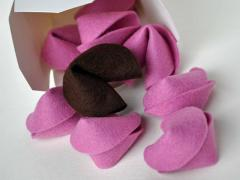 How to Make Felt Fortune Cookies