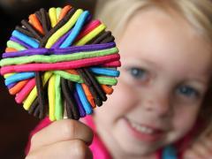 Hair Tie Lollypop