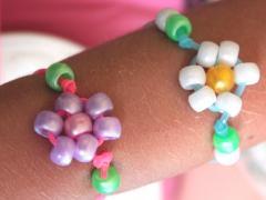 Daisy Flower Bracelet