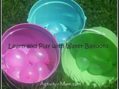 7 Fun, Wet Water Balloon Activities