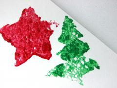 Christmas Sponge Stamp Blocks