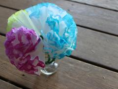 Coffee Filter Hydrangeas