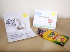 Happy Spring Pop-Up Cards