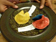 Clay Fortune Cookies