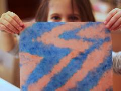 Itajime- Japenese Paper Dyeing
