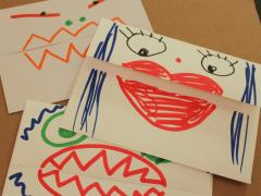 Monster Mouth Envelopes