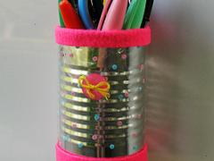 Magnetic Locker Pencil Holder