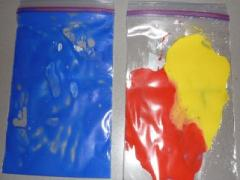 Ziploc Bag & Paint
